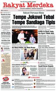 Cover Rakyat Merdeka 01 November 2018