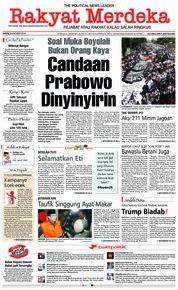 Cover Rakyat Merdeka 03 November 2018