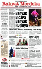 Cover Rakyat Merdeka 04 November 2018