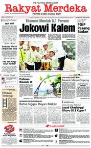 Rakyat Merdeka Cover 07 November 2018