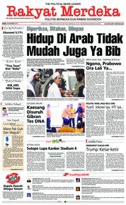 Cover Rakyat Merdeka 08 November 2018