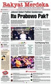 Cover Rakyat Merdeka 10 November 2018