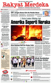 Cover Rakyat Merdeka 11 November 2018