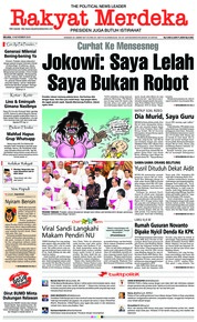 Cover Rakyat Merdeka 13 November 2018