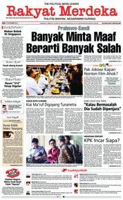 Rakyat Merdeka Cover 14 November 2018