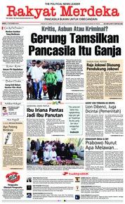 Rakyat Merdeka Cover 17 November 2018