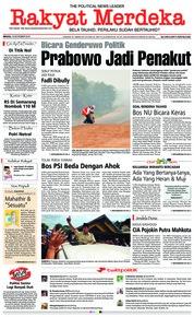 Rakyat Merdeka Cover 18 November 2018