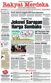 Cover Rakyat Merdeka 21 November 2018