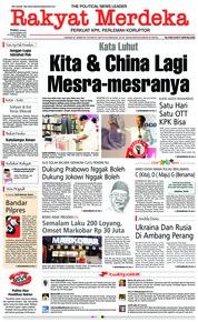 Rakyat Merdeka Cover 28 November 2018