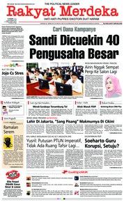 Rakyat Merdeka Cover 29 November 2018