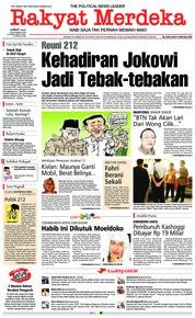 Rakyat Merdeka Cover 30 November 2018