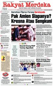 Rakyat Merdeka Cover 01 December 2018