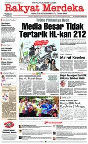 Cover Rakyat Merdeka 04 Desember 2018