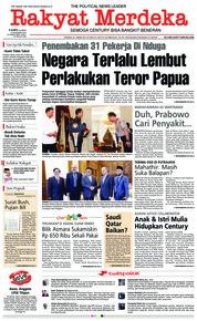 Cover Rakyat Merdeka 06 Desember 2018
