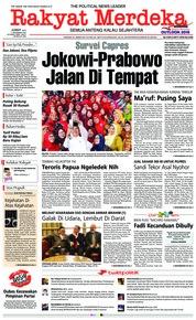 Cover Rakyat Merdeka 07 Desember 2018