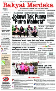 Cover Rakyat Merdeka 09 Desember 2018