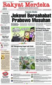Cover Rakyat Merdeka 10 Desember 2018