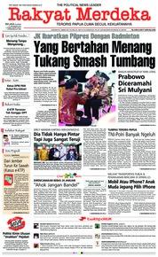 Cover Rakyat Merdeka 11 Desember 2018