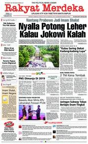 Cover Rakyat Merdeka 12 Desember 2018