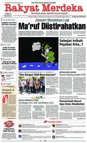 Cover Rakyat Merdeka 14 Desember 2018