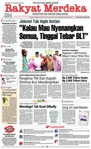Cover Rakyat Merdeka 15 Desember 2018