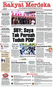 Cover Rakyat Merdeka 17 Desember 2018