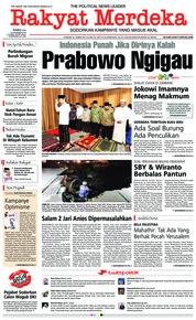 Cover Rakyat Merdeka 19 Desember 2018