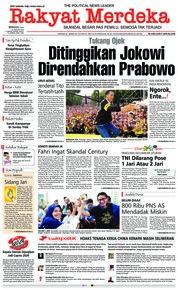 Cover Rakyat Merdeka 13 Januari 2019