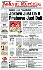Cover Rakyat Merdeka 19 Januari 2019
