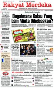 Cover Rakyat Merdeka 21 Januari 2019