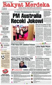 Cover Rakyat Merdeka 22 Januari 2019