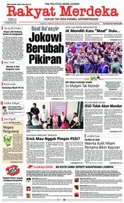 Cover Rakyat Merdeka 23 Januari 2019