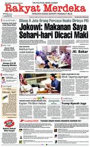 Rakyat Merdeka Cover 27 January 2019