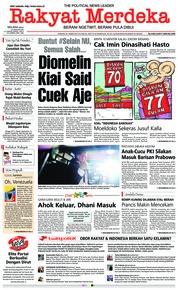Rakyat Merdeka Cover 29 January 2019