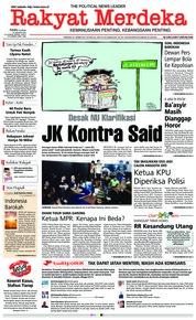 Rakyat Merdeka Cover 30 January 2019