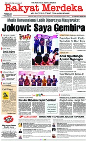 Rakyat Merdeka Cover 10 February 2019