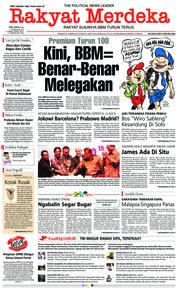Rakyat Merdeka Cover 12 February 2019