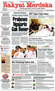 Rakyat Merdeka Cover 14 February 2019