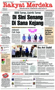 Rakyat Merdeka Cover 16 February 2019