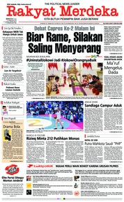 Rakyat Merdeka Cover 17 February 2019