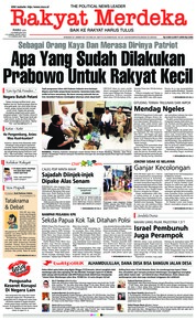 Rakyat Merdeka Cover 20 February 2019