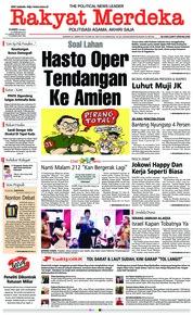 Cover Rakyat Merdeka 21 Februari 2019