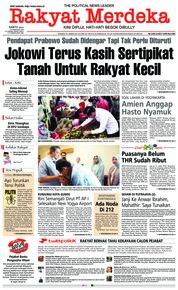 Cover Rakyat Merdeka 23 Februari 2019