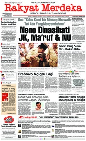 Cover Rakyat Merdeka 24 Februari 2019