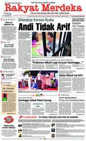 Cover Rakyat Merdeka 05 Maret 2019