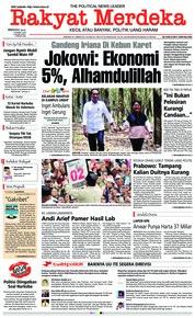 Cover Rakyat Merdeka 10 Maret 2019