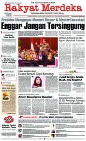 Cover Rakyat Merdeka 13 Maret 2019