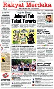 Cover Rakyat Merdeka 15 Maret 2019