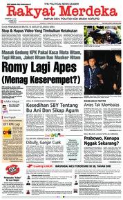 Cover Rakyat Merdeka 16 Maret 2019