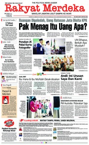 Cover Rakyat Merdeka 19 Maret 2019